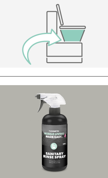 SANITARY RINSE SPRAY