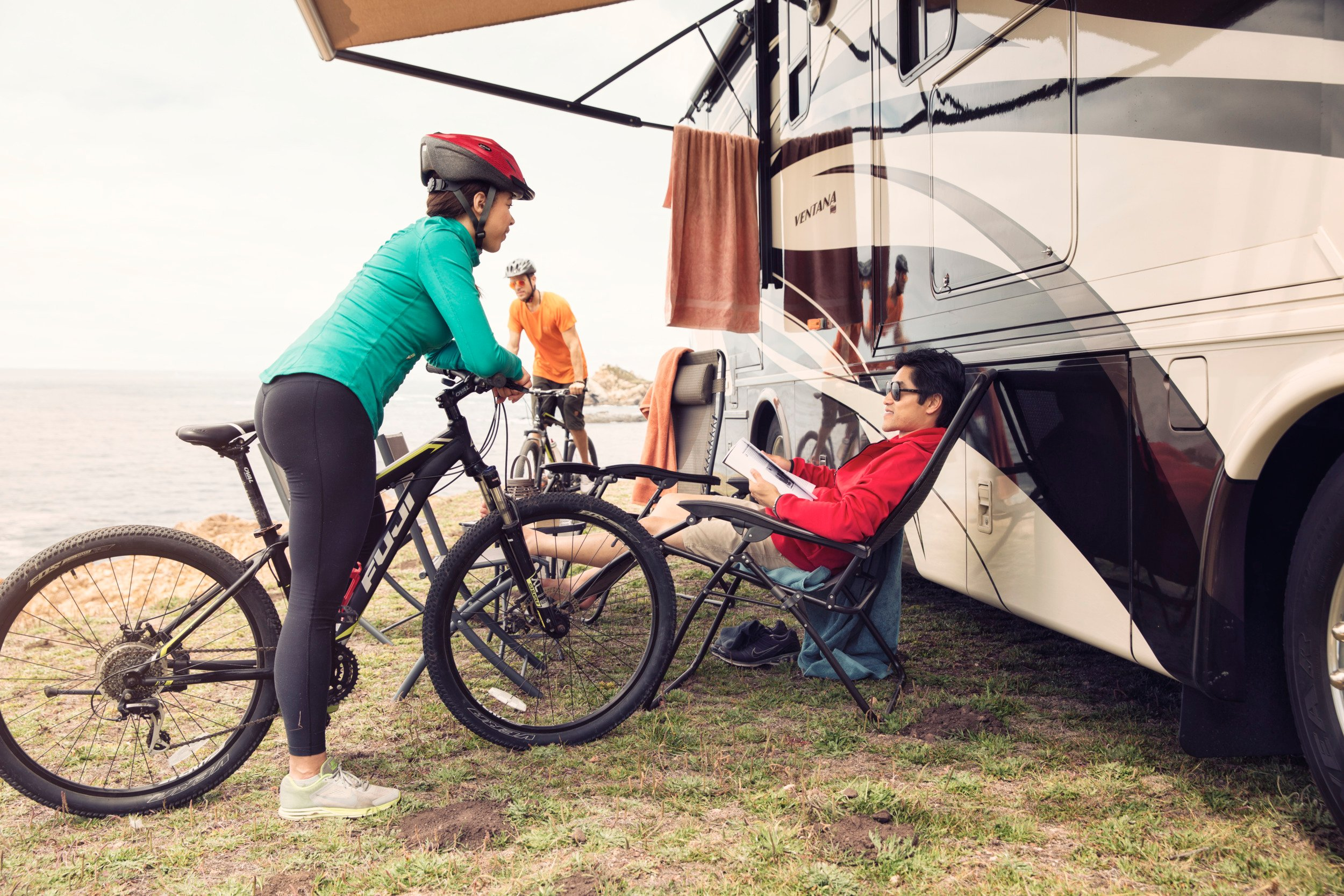 Dometic rv motorhome biking awning Day6 0073, mtb, mountain, bike ,mountainbike, chair, awning, motorhome, rv, seaside, sea, water, lake, lakeside, free, ative, athletic, sporty