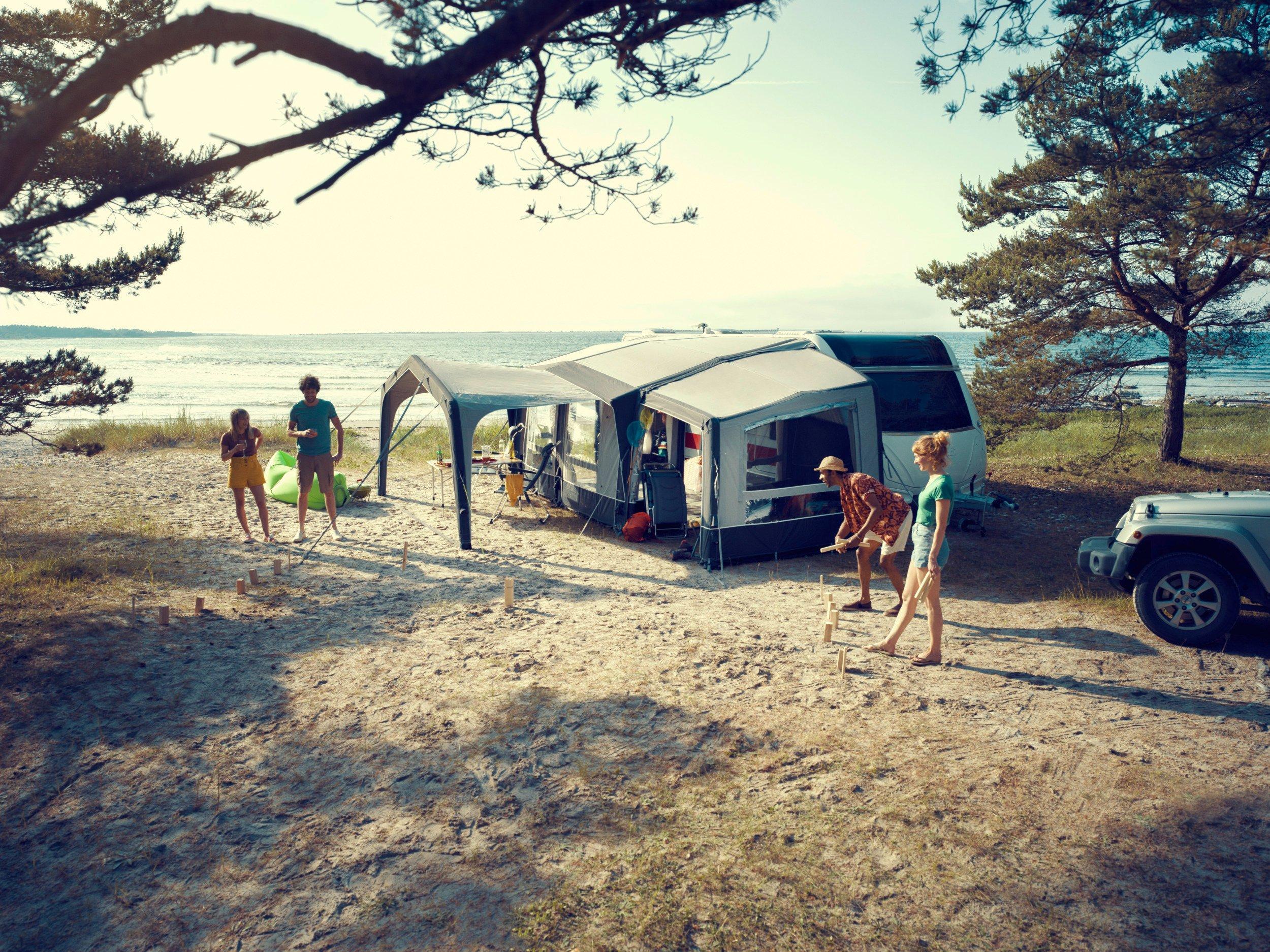 Volledige aansluiting Camping Indiana