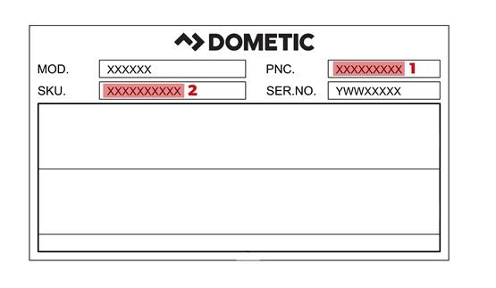 typeplaatje, sku, reserve, onderdelen, artikelnummer, pnc, code