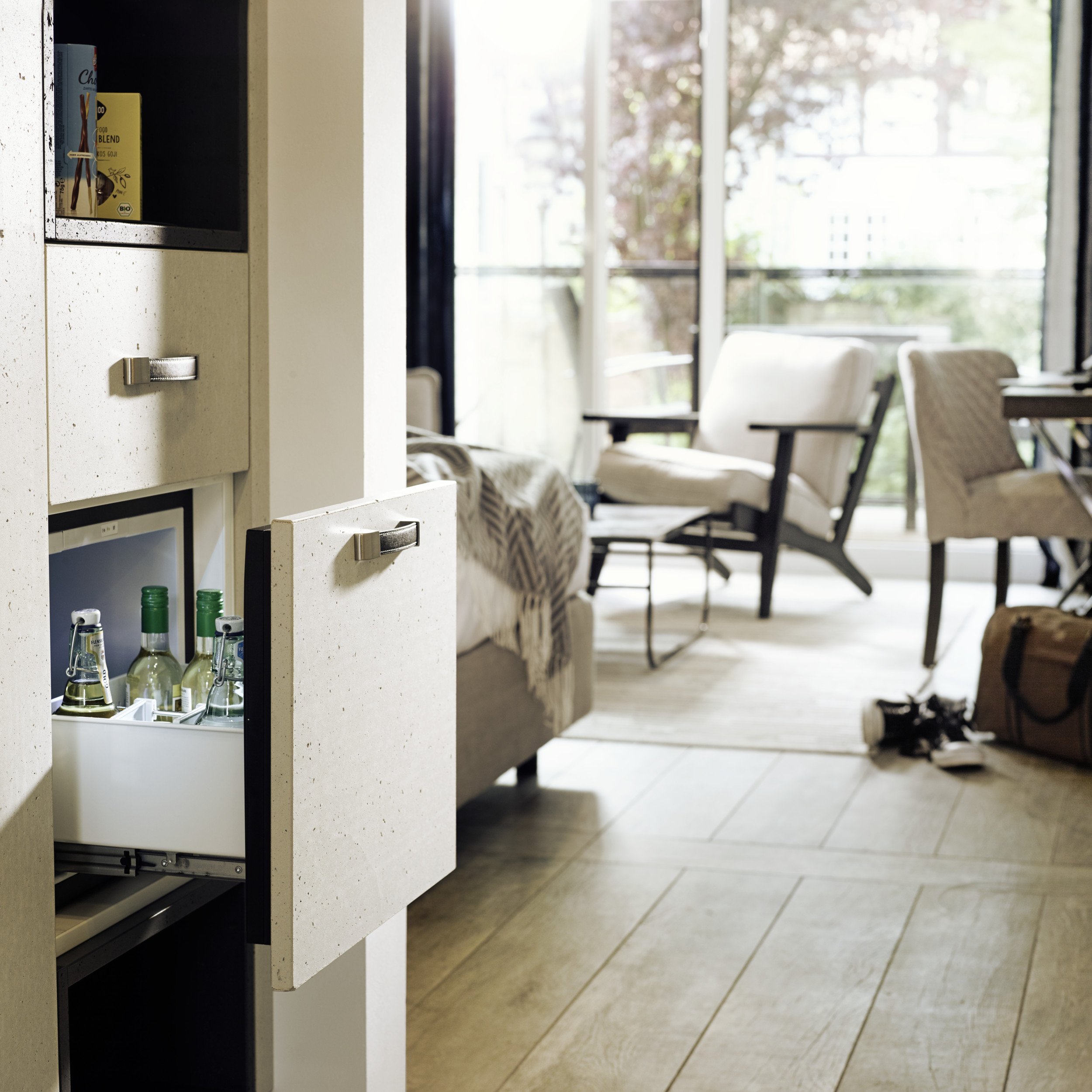 DOMETIC DRAWER MINIBAR RECOGNIZED FOR USABILITY
