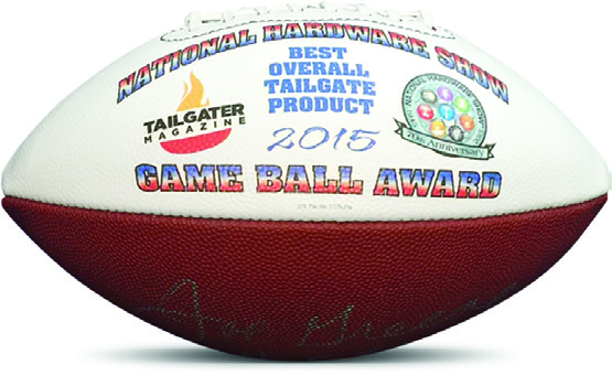 Tailgater Magazine Best Overall Tailgate Product Award 2015