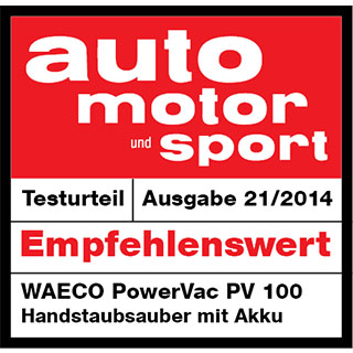 Auto Motor und Sport Recommended Product 2014