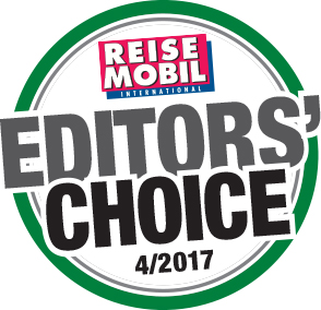 Reisemobil Editors Choice 2017