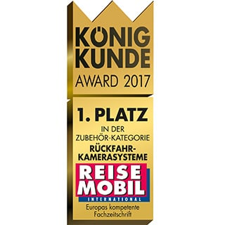 Reisemobil International König Kunde Award 2017 Testsieger