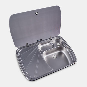 DOMETIC SINK AND DRAINER COMBINATION - Sink and drainer