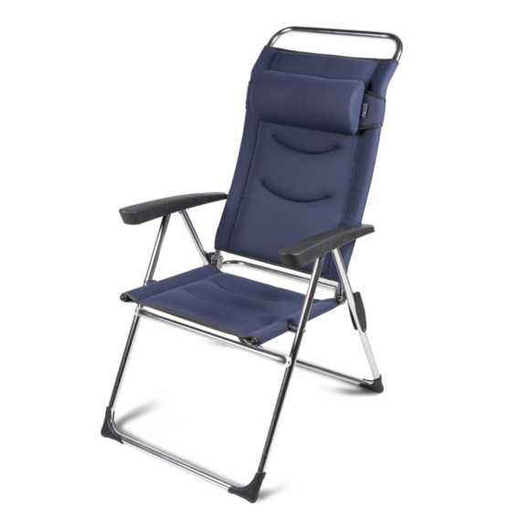 Kampa Dometic Lusso Milano Chair - Steel Blue