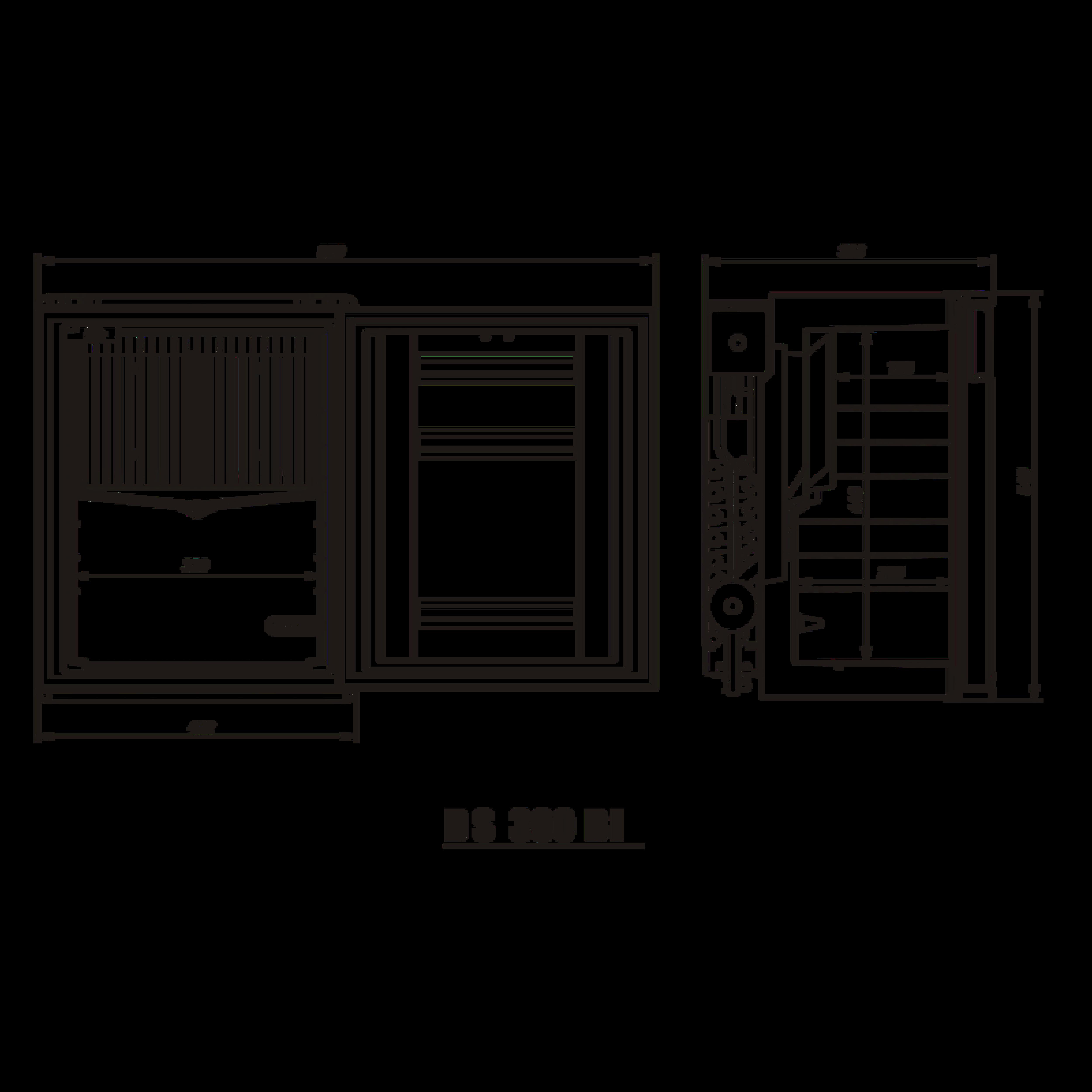 DS300 BI Dimensions
