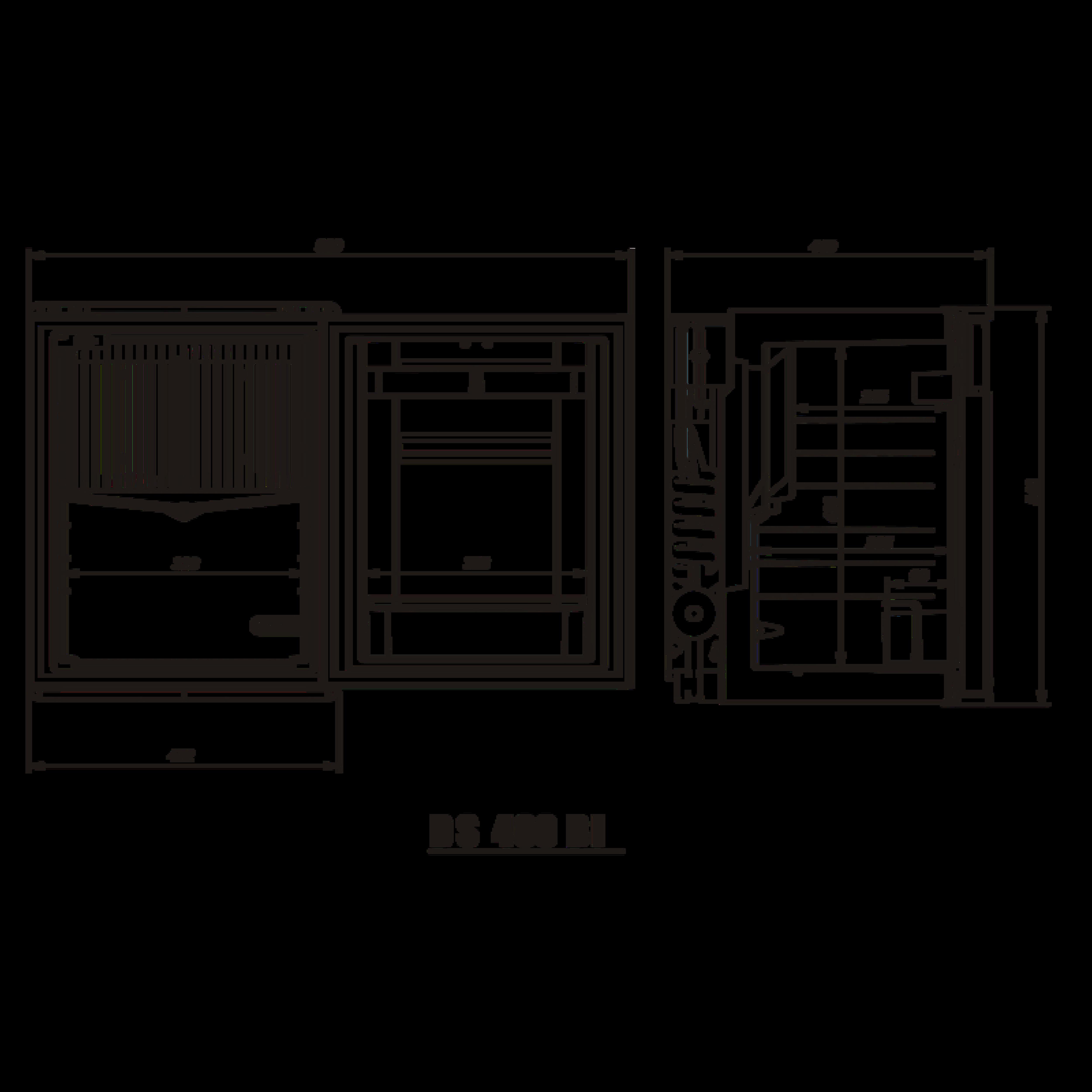 DS400 BI Dimensions