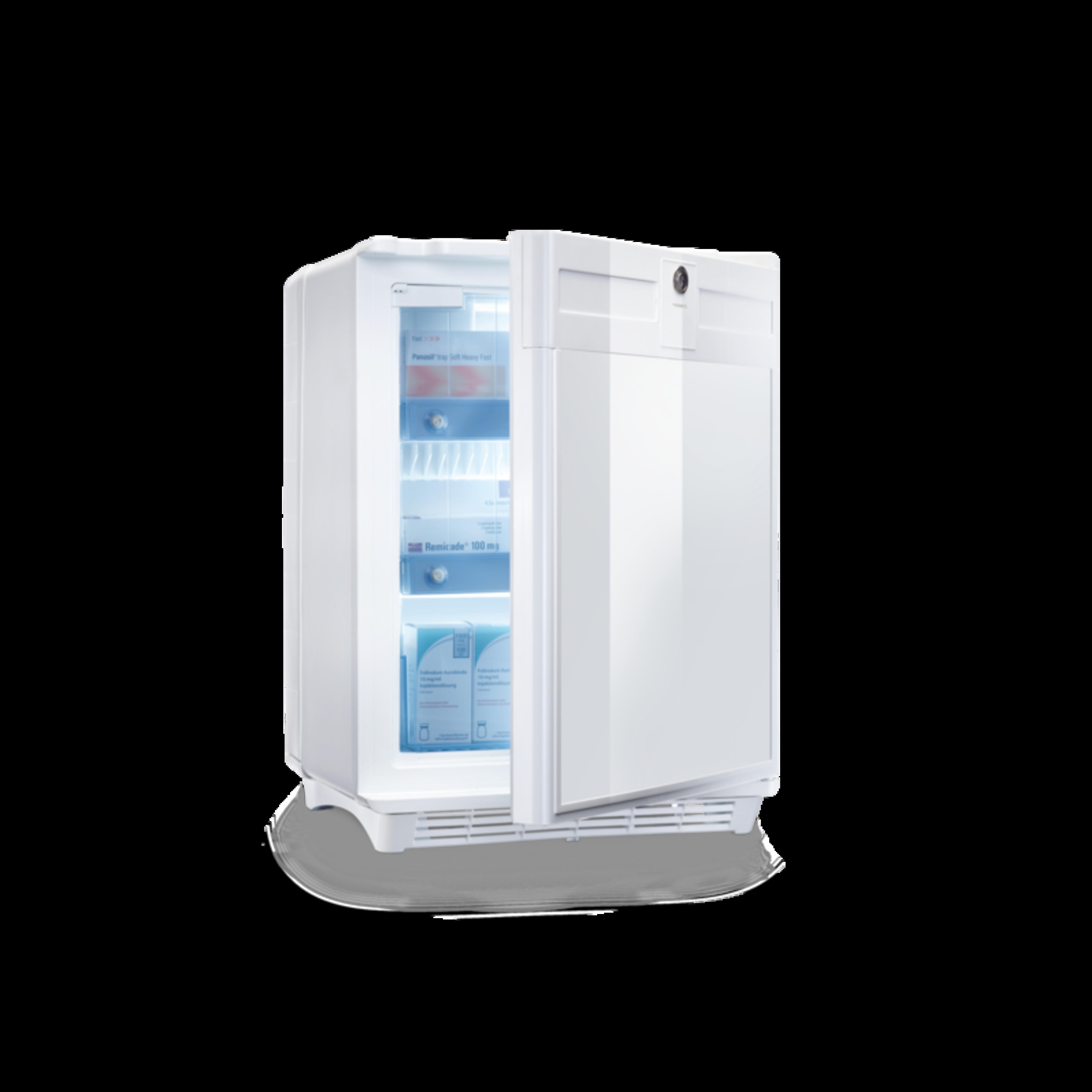 Støjfrie absorptionskøleskabe