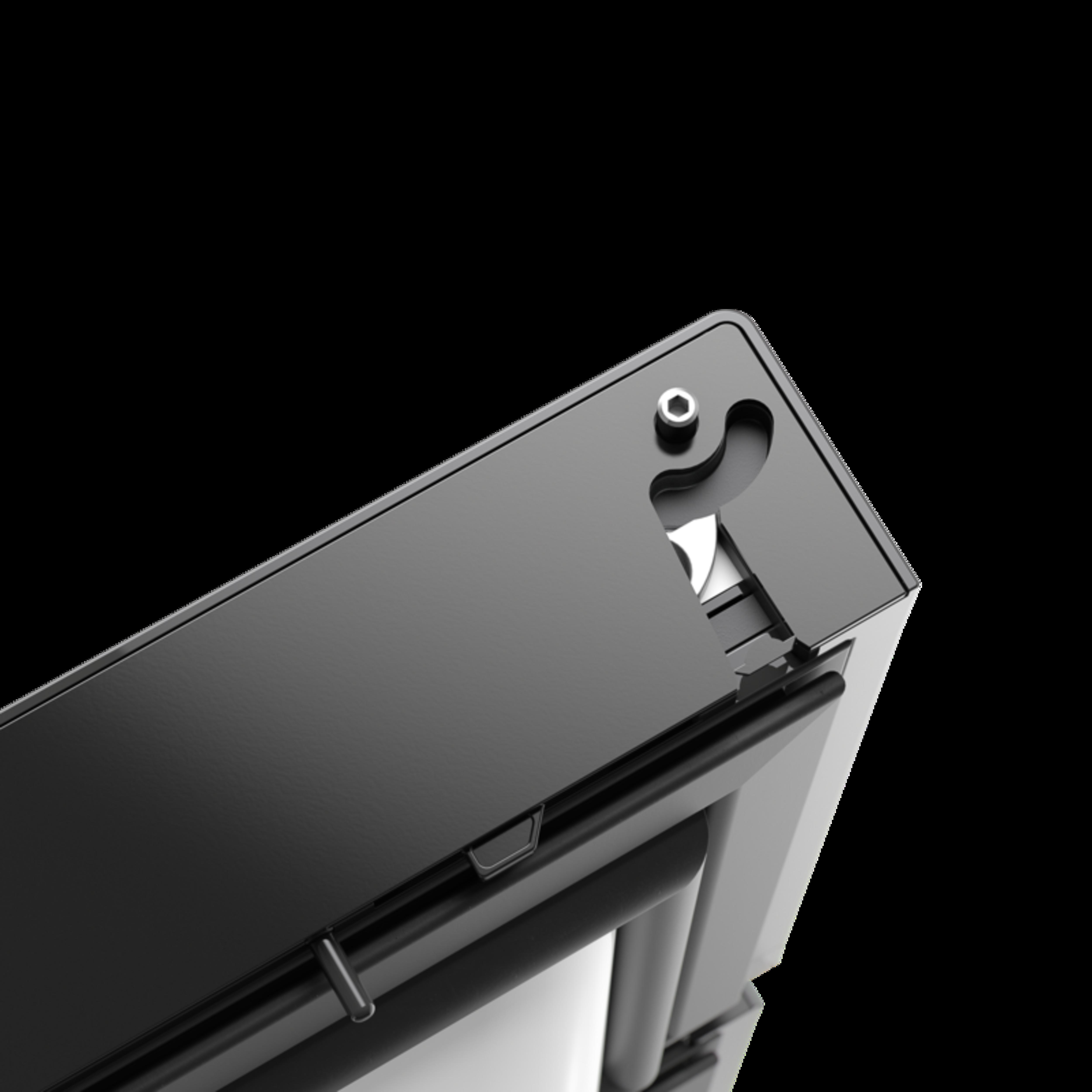 Topunkts låsesystem
