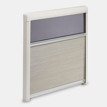 Dometic DB3H - Honeycomb darkening roller blind with fly screen, 485 x 700 mm