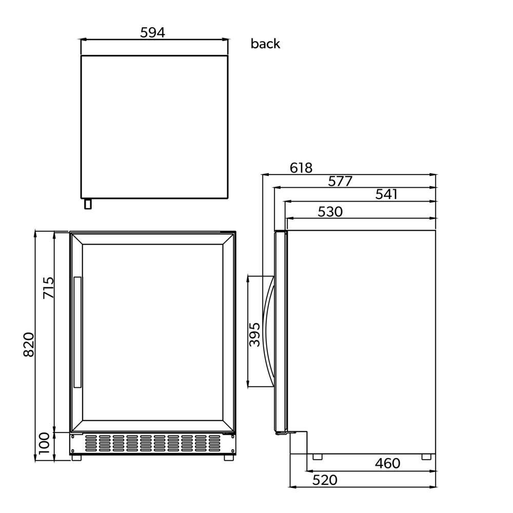 Dometic Macave S46g Twozone Burglar Alarm Circuit Description Microsoft Word Dimensions Drawing S17g S24g S118g St198d
