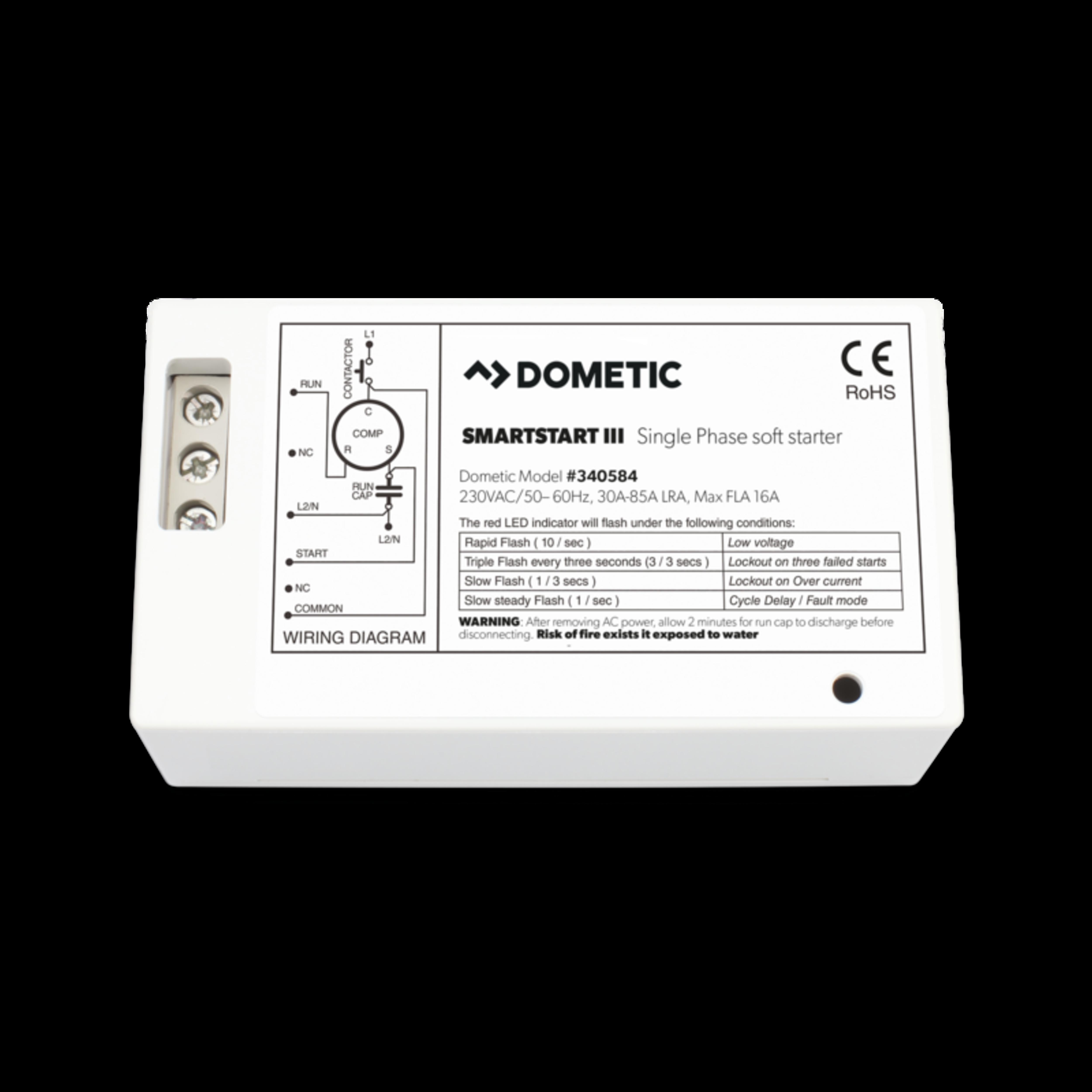 dometic smartstart iii soft starter for marine air conditioning, 16dometic smartstart iii