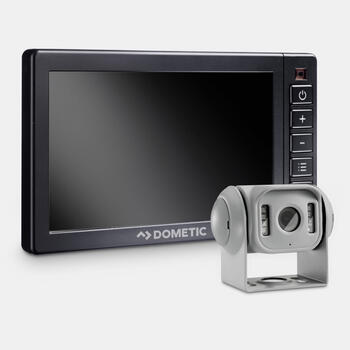 "Dometic PerfectView RVS 555X - Reversing video system with silver camera and 5"" heavy-duty monitor"