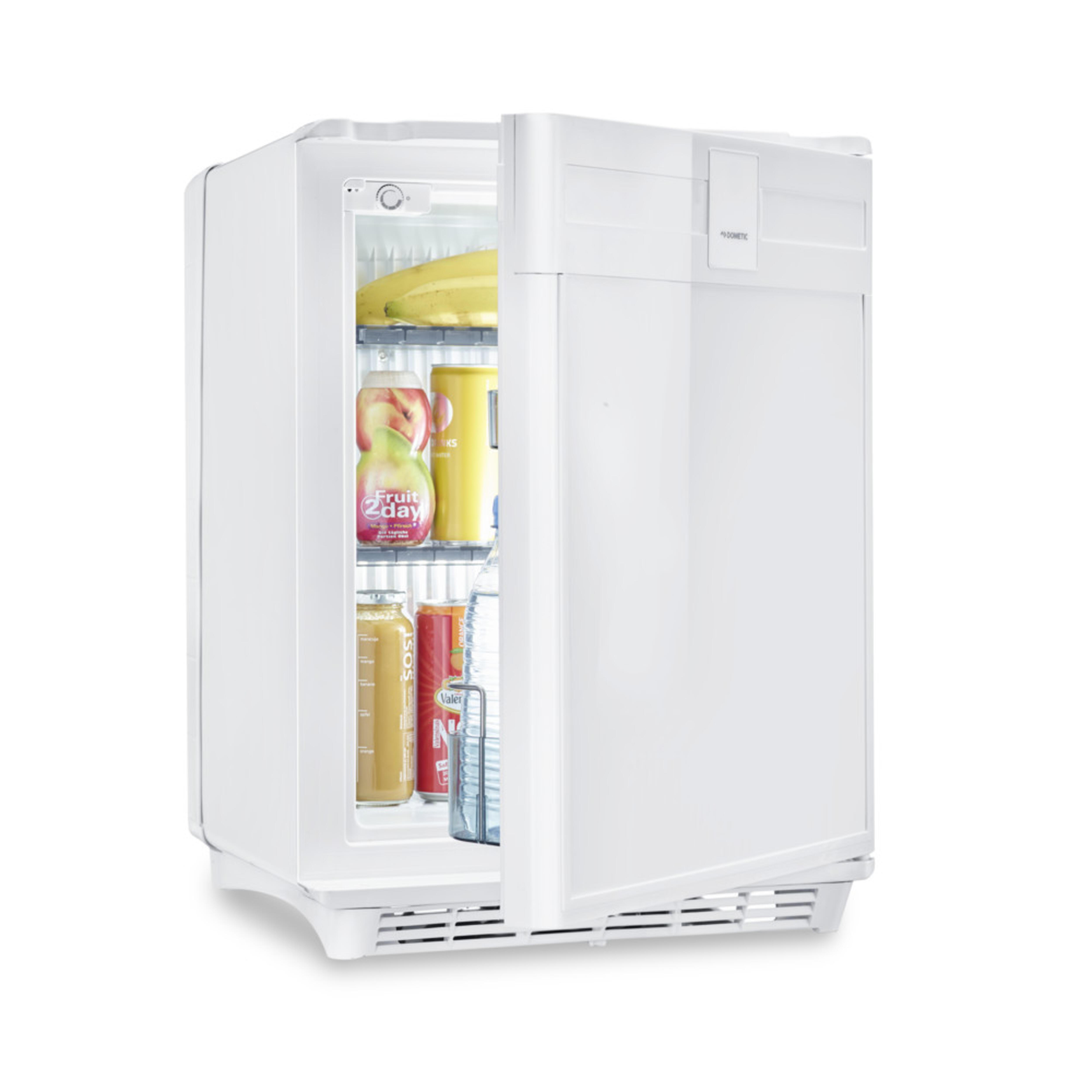 mini fridge in kitchen