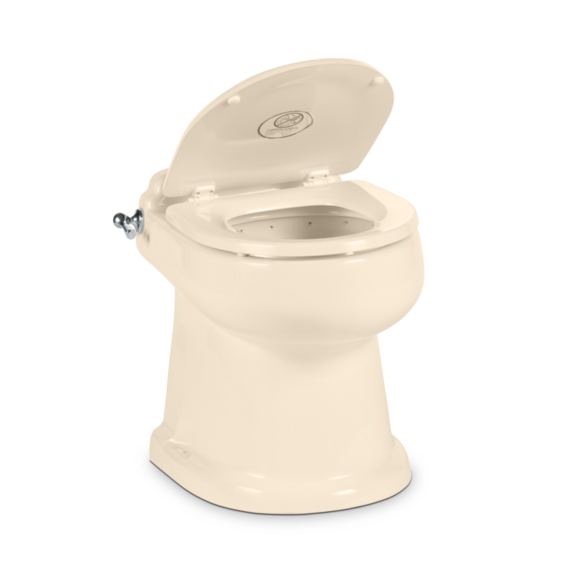 Wondrous Dometic 4310 Toilet Toilet Chrome Flush Handle Bone Pdpeps Interior Chair Design Pdpepsorg