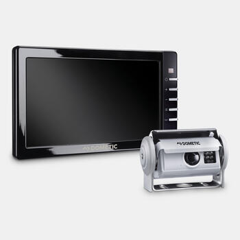 "Dometic PerfectView RVS 780 AHD - Reversing video system with silver shutter camera and 7"" AHD monitor"