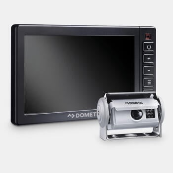 "Dometic PerfectView RVS 580X AHD - Reversing video system with shutter camera and 5"" heavy-duty monitor"