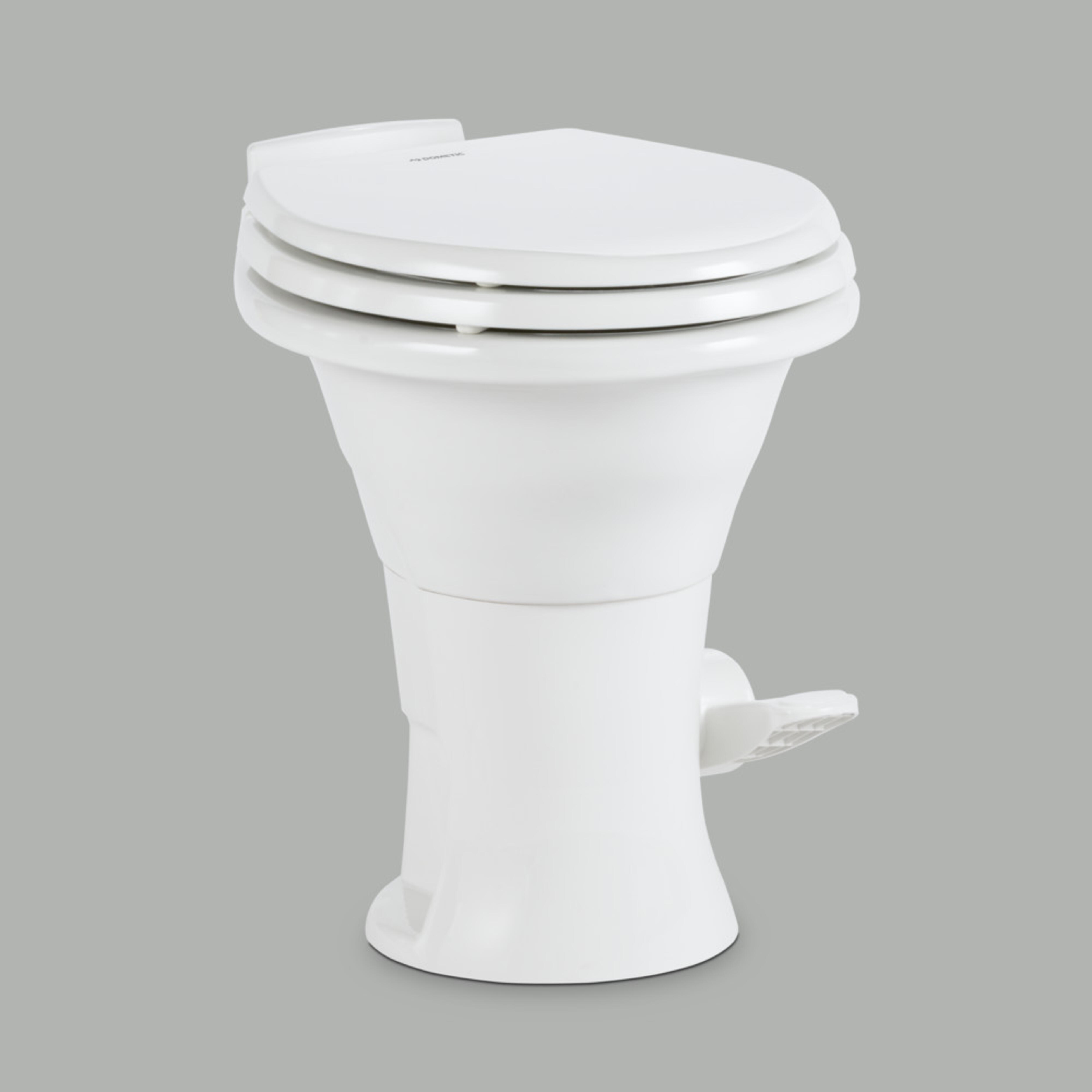 White Dometic 310 Series Standard Height Toilet
