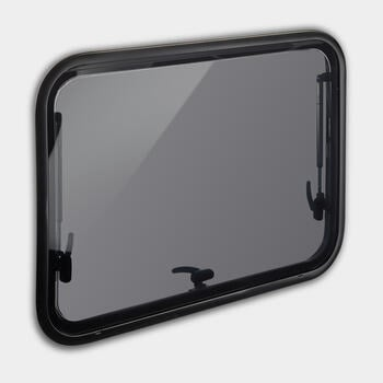 Dometic S7P - Top-hung hinged wall window for curved outlines