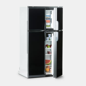Dometic RM 1350S - Absorption Refrigerator, 13 cu ft, black stainless steel door, ice maker