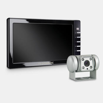 "Dometic PerfectView RVS 745 - Reversing video system with silver colour camera and 7"" monitor"