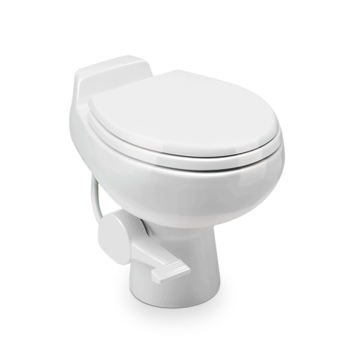 Dometic VacuFlush 509 - Vacuum Toilet, white