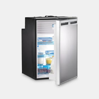 Dometic CoolMatic CRX 110 - Compressor refrigerator, 108 l, stainless steel look