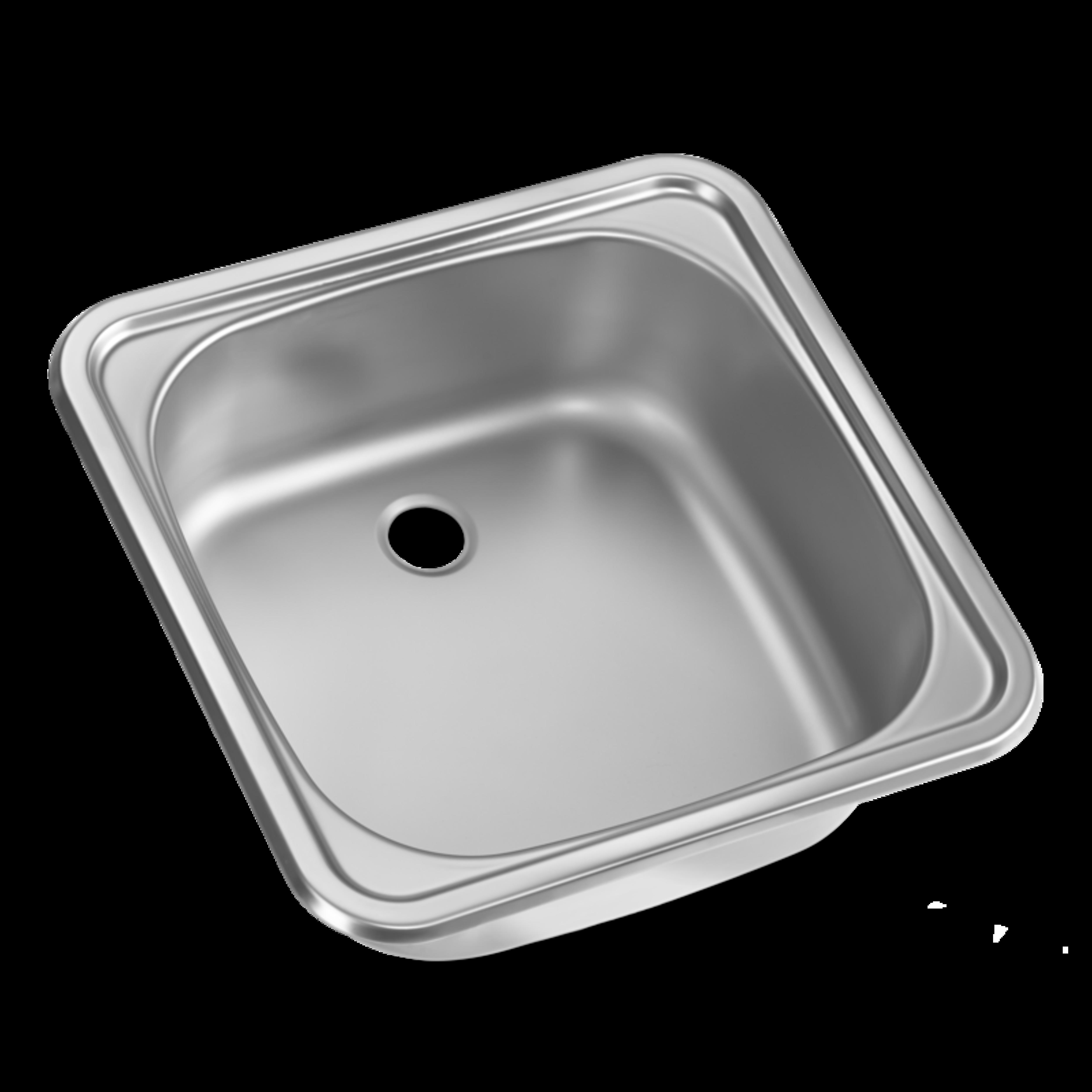 Nelikulmainen ja valmistettu ruostumattomasta teräksestä, joten kestävä ja helppo puhdistaa