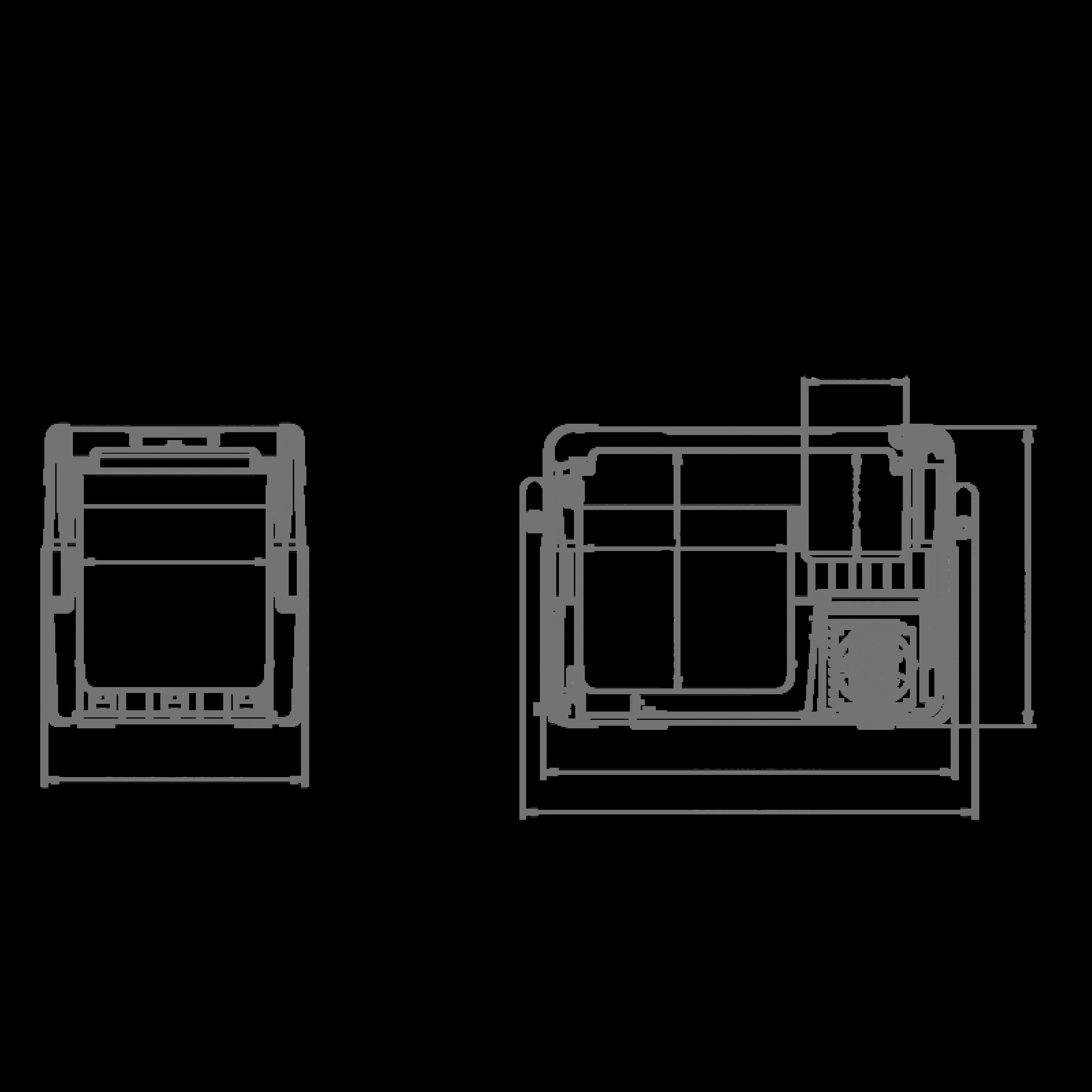 CFX 40W Dimensions