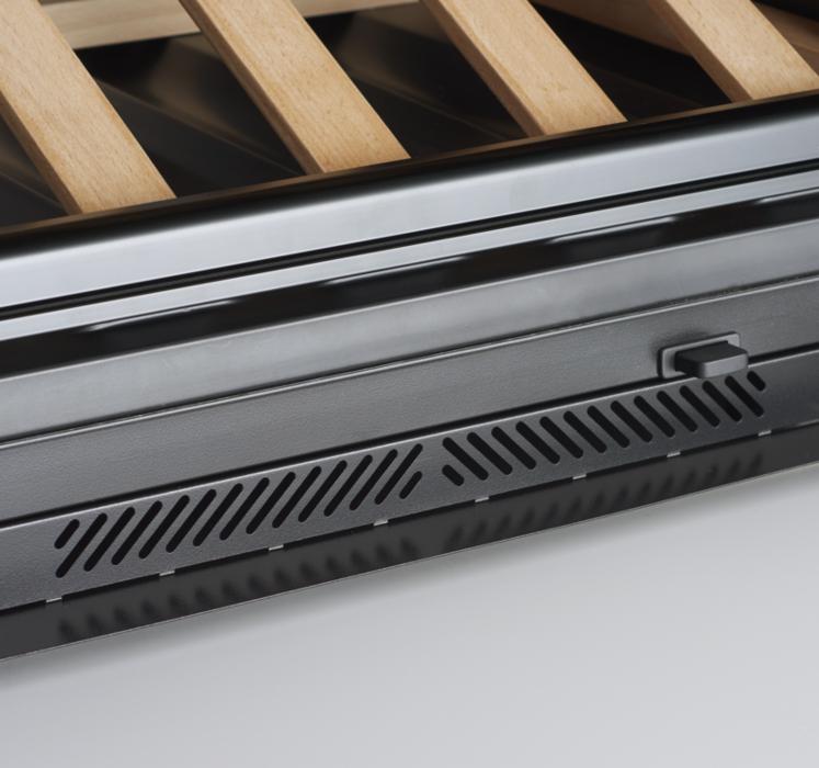 Effective front ventilation system