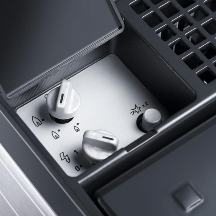 Gegarandeerde energievoorziening: de koelbox kan ook op gaspatronen werken