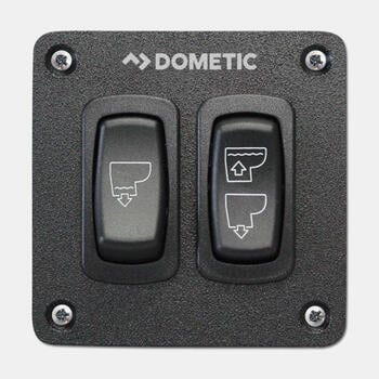 Dometic MF-DFST - Panel interruptor de descarga triple para inodoros de agua dulce MasterFlush