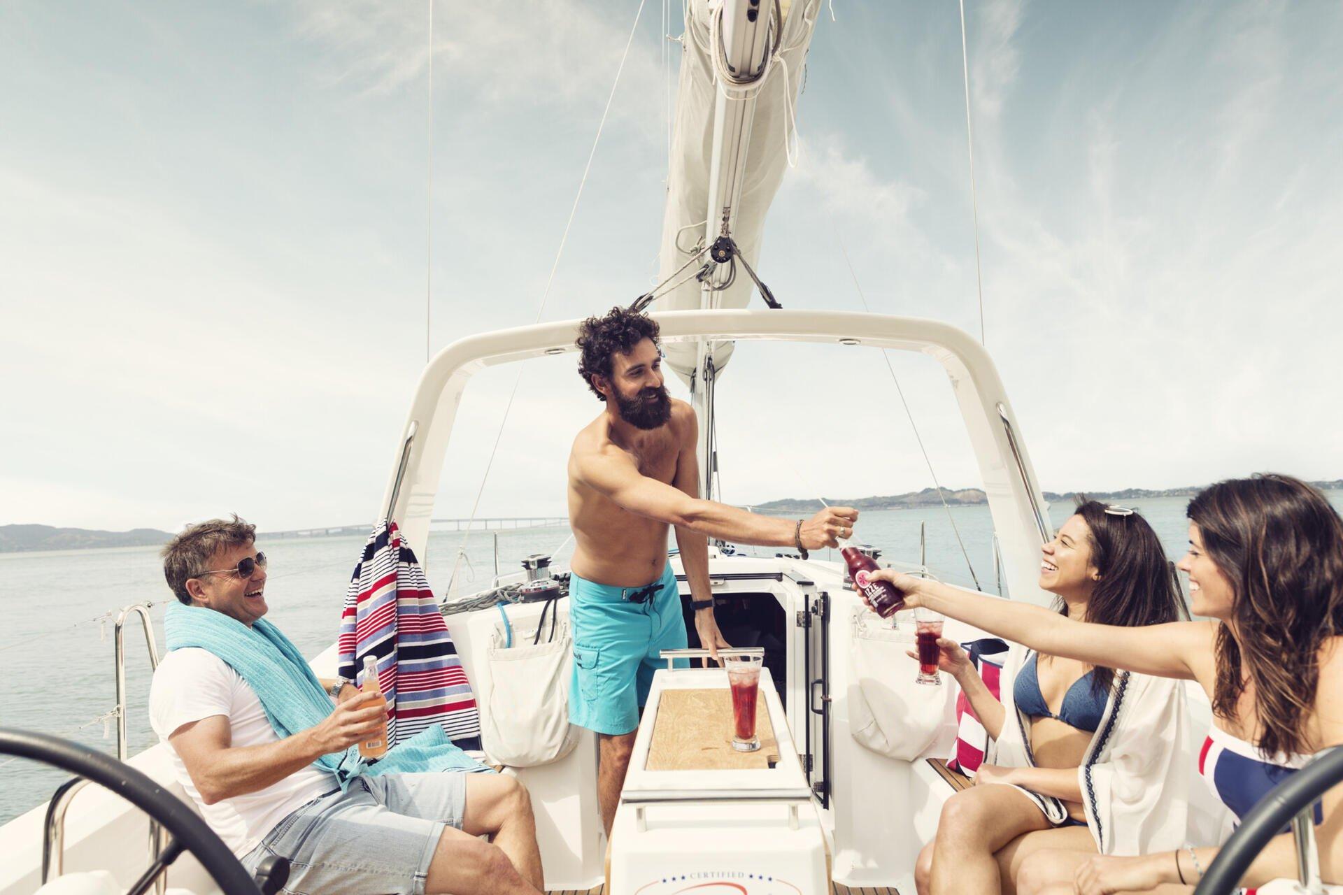 Dometic marine sailboat drinks refrigerator