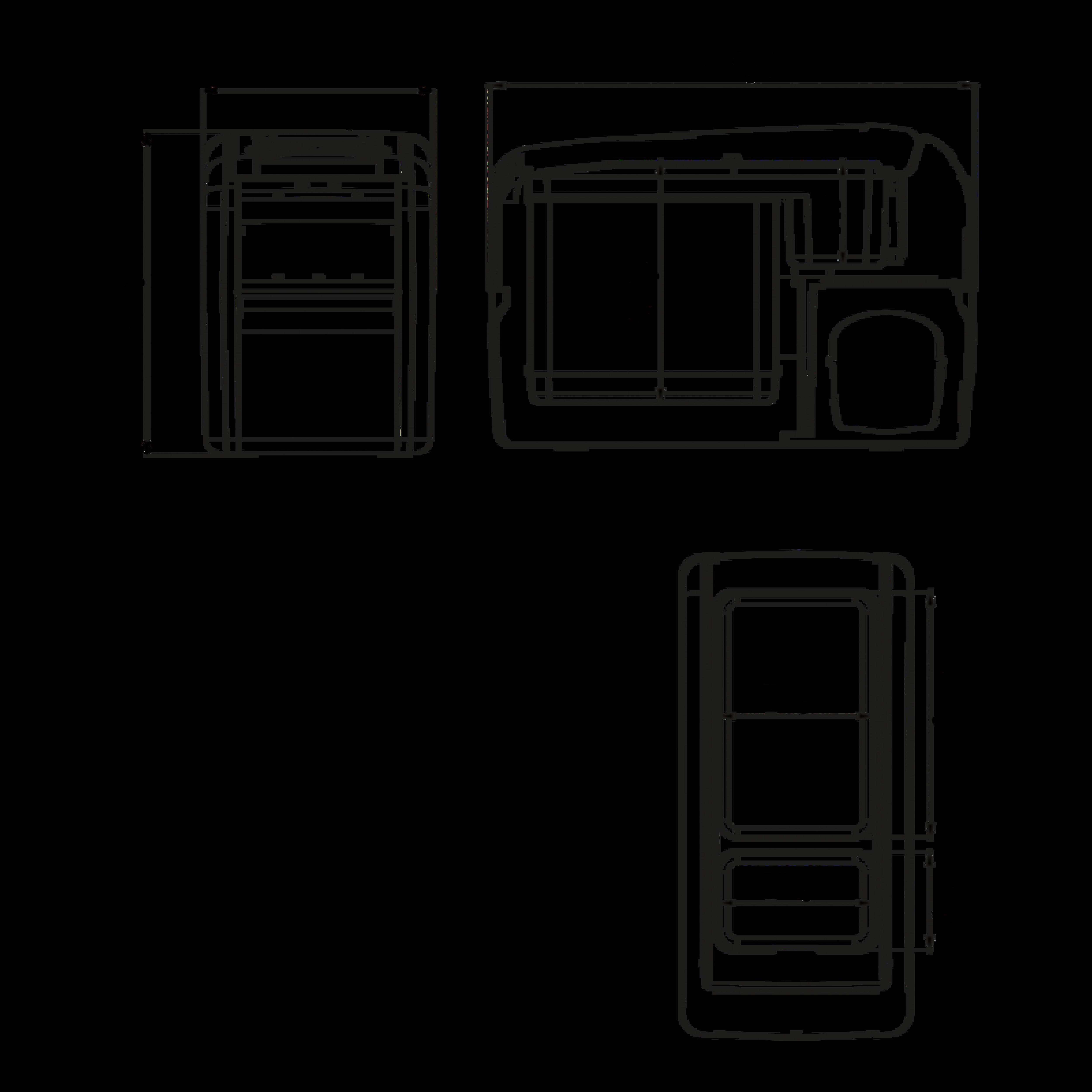 CDF 16 Dimension Drawing