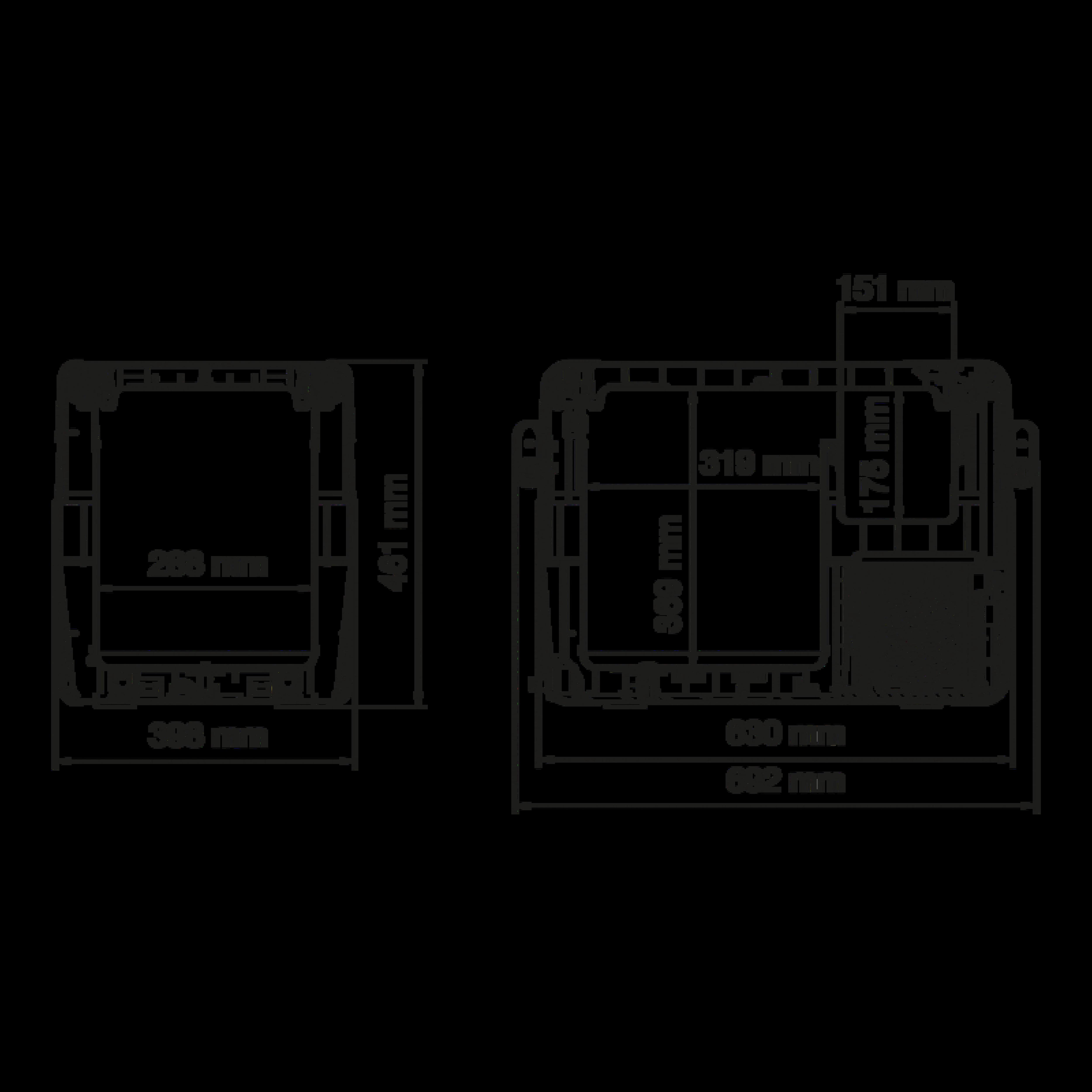 CFX 40 Dimensions