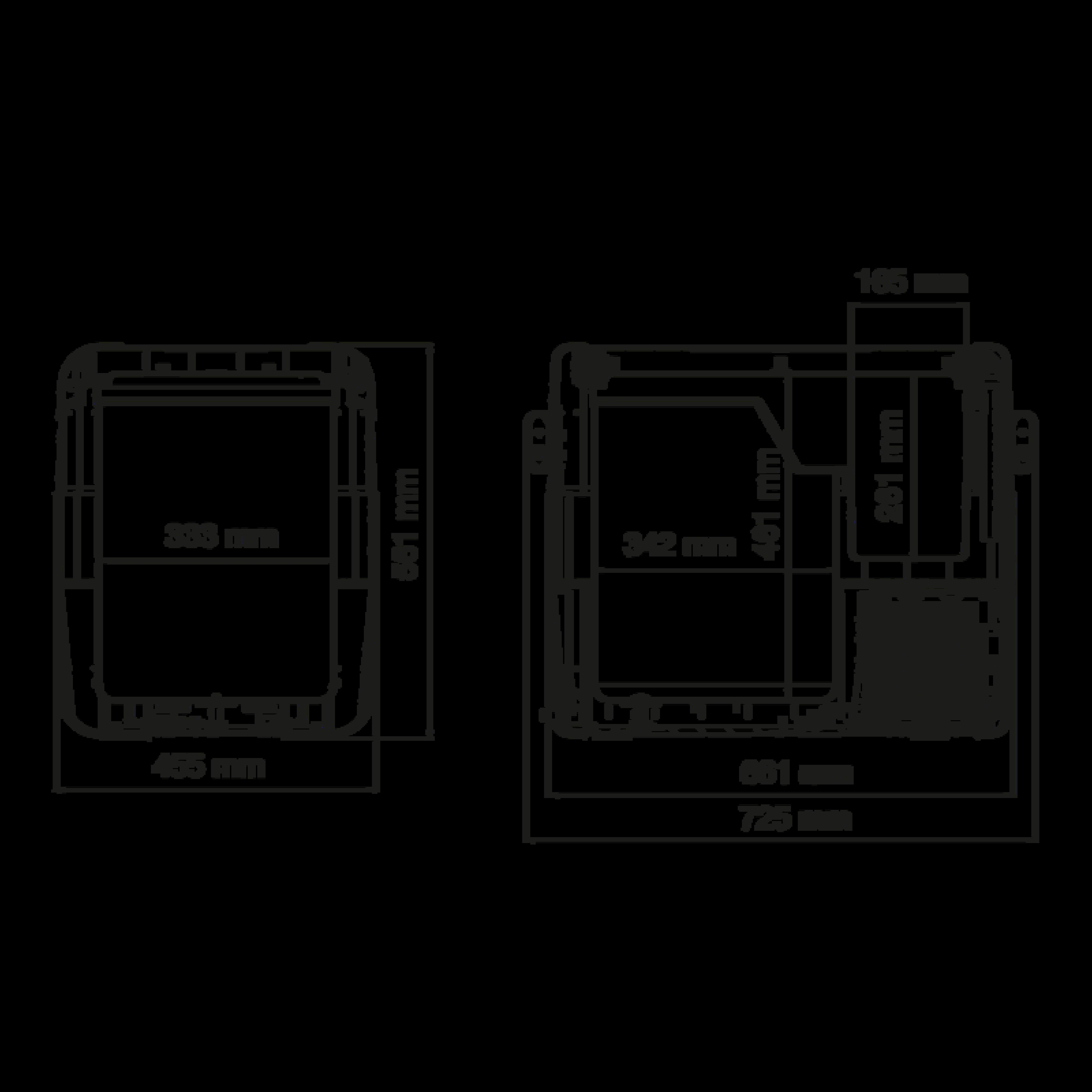 CFX 65 Dimensions