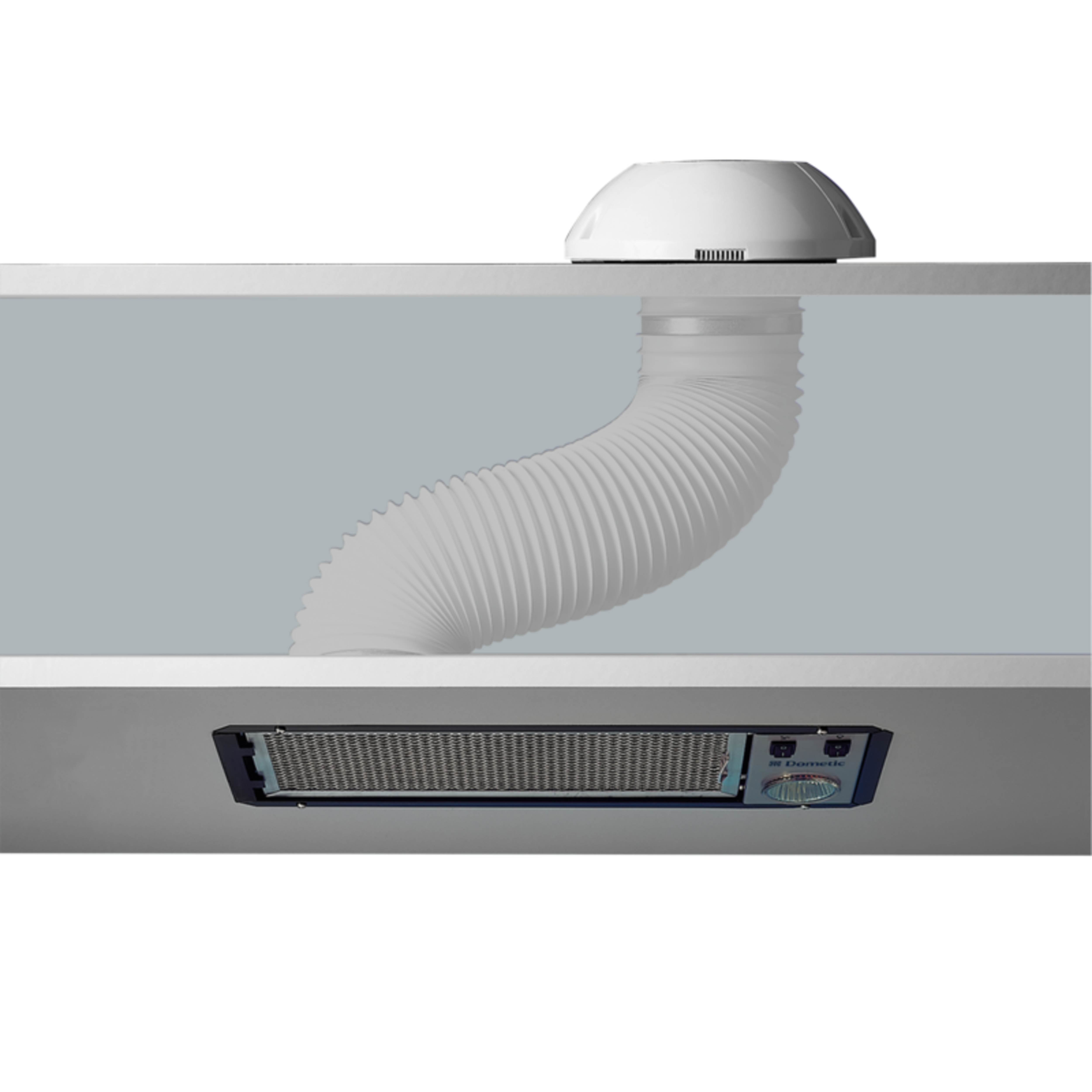 Effektiv ventilator med én hastighed