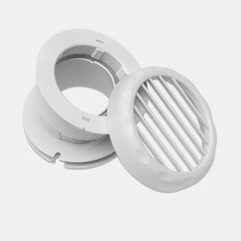 Dometic FreshWell FW-ADG - Circular air outlet grill kit for A/C, ø 60 mm