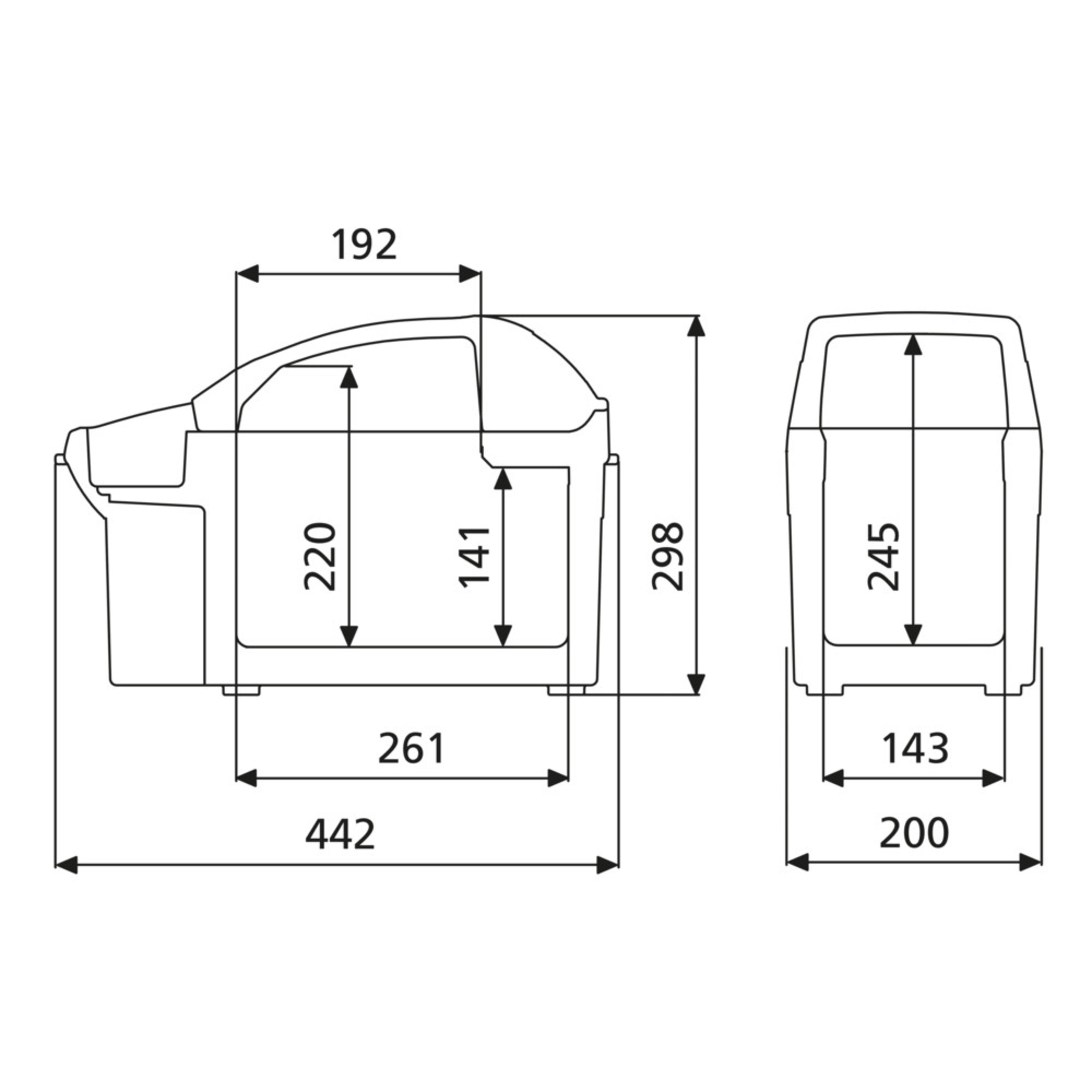 Dometic Tropicool Bord-Bar TB-08G-12 in-Car Cool Box 8 Litre 12 V
