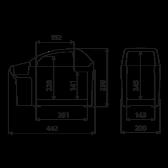 TB 08 Dimensions