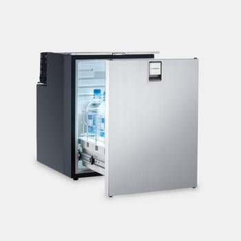 Dometic CoolMatic CRD 50S - Pull-out compressor refrigerator with stainless steel front, 38.5 l