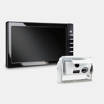 "Dometic PerfectView RVS 794 - Reversing video system with white twin shutter camera and 7"" monitor"