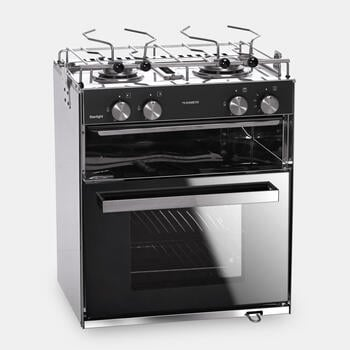 Dometic StarLight - Gas oven with grill cabinet and 2-burner hob