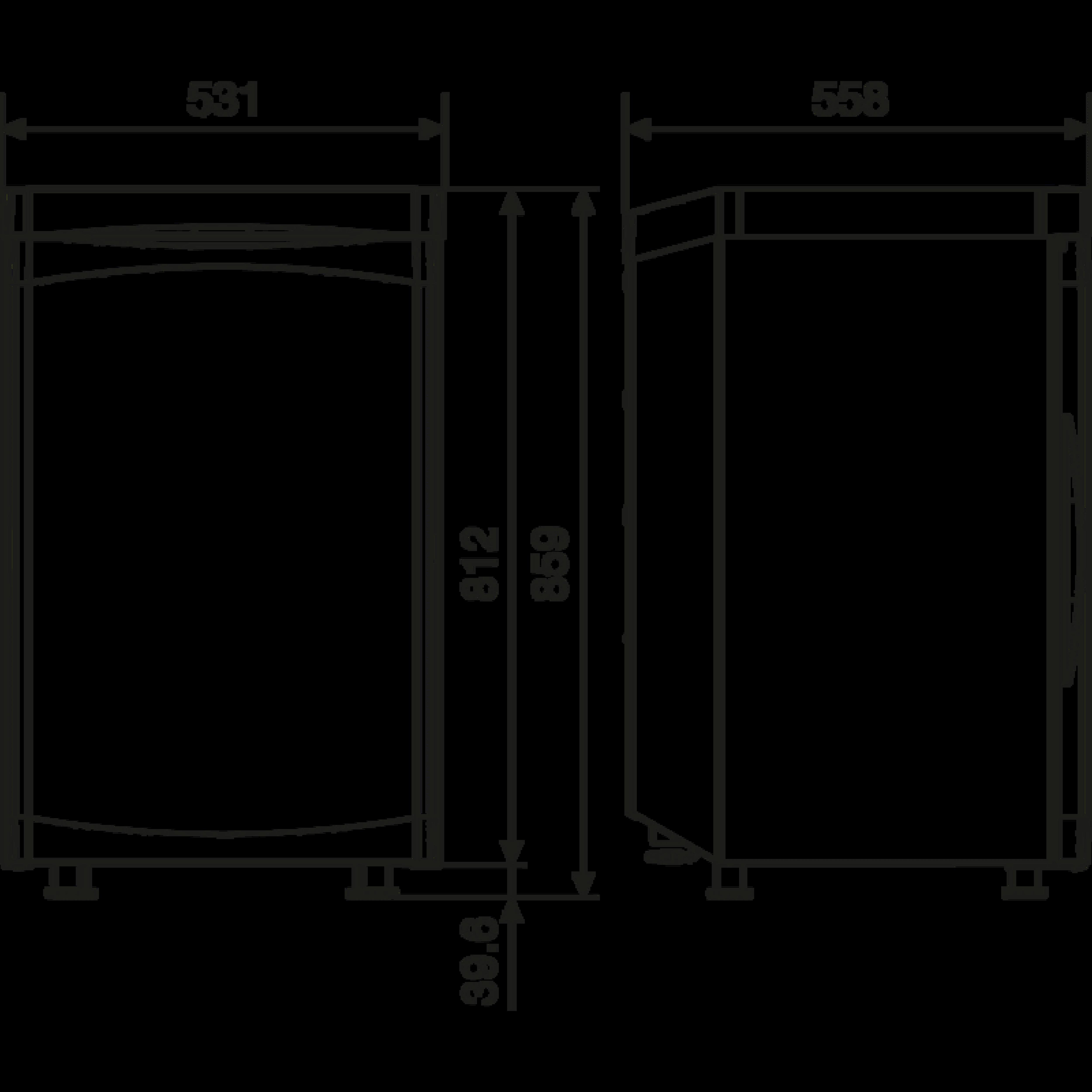 RGE 2100 Dimensions