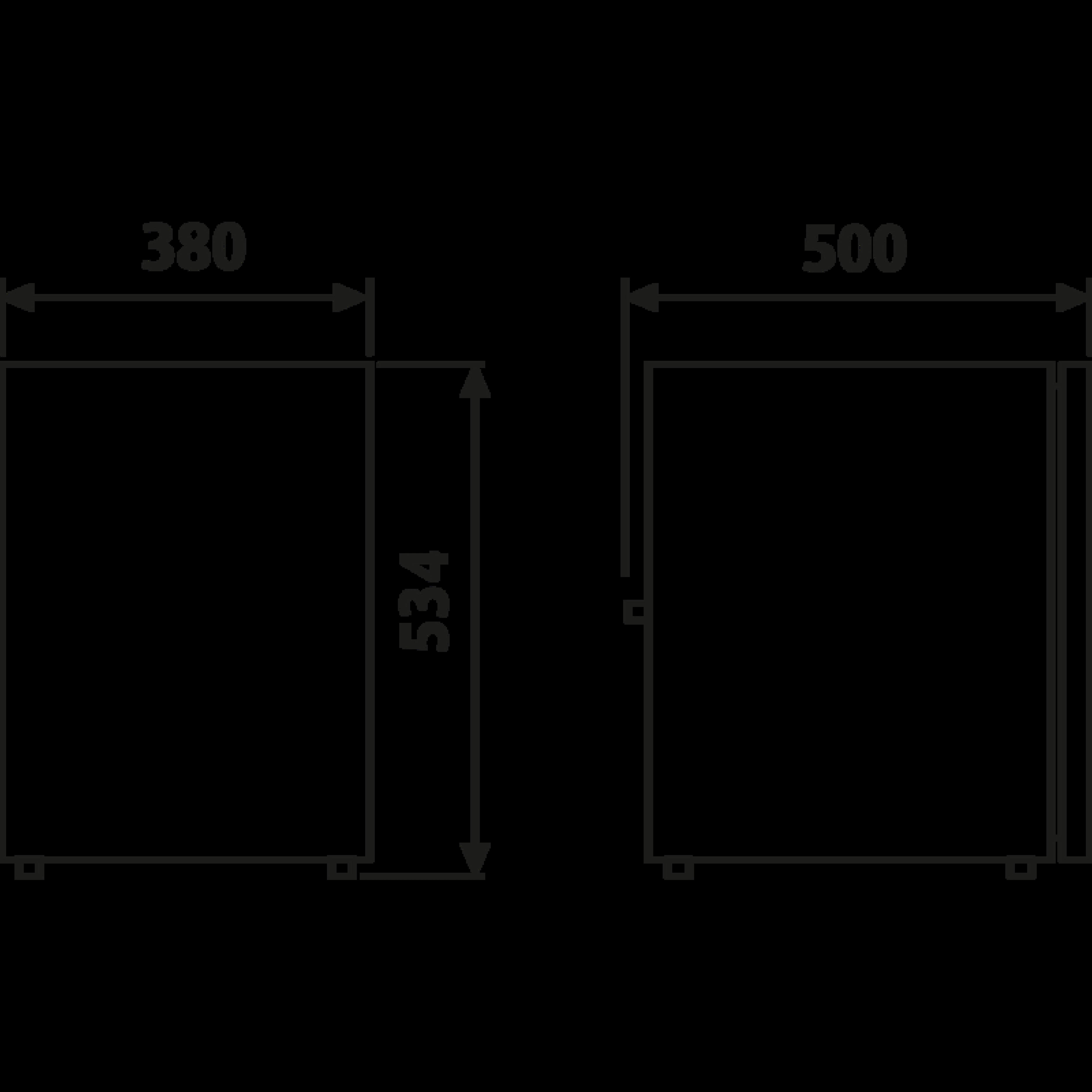 CRX 50 Dimensions