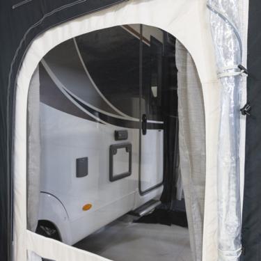 Paneles laterales extraíbles con cremallera