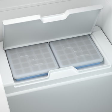 Removable ice trays