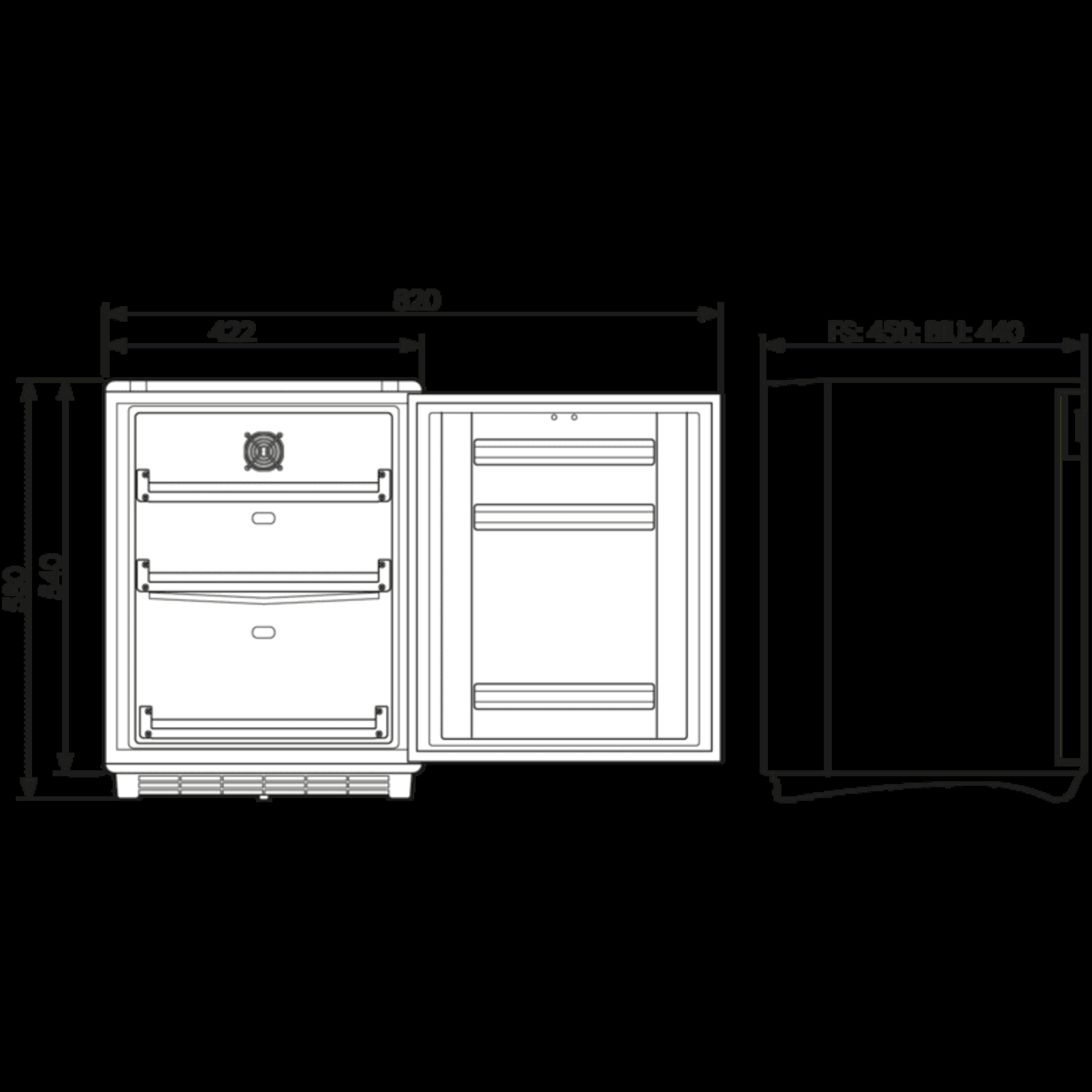 HC302D Dimensions